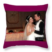 First Dance Throw Pillow
