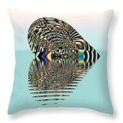 Floating Heart Throw Pillow