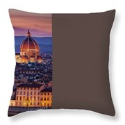 Florence Duomo Throw Pillow