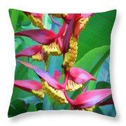 Flower 99 Throw Pillow