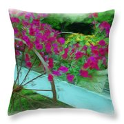 Flower Pot 2 Throw Pillow