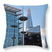Focus On The Shard London Throw Pillow