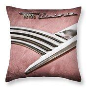 Ford Crown Victoria Emblem Throw Pillow