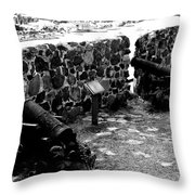 Fort St. Louis Throw Pillow