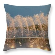 Fountain 1 Throw Pillow