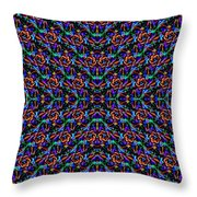 Fractal Pattern Duvet Throw Pillow