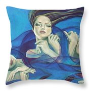 Fragments Of Longing  Throw Pillow