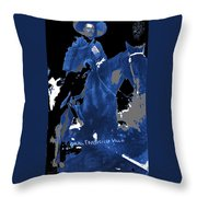 Francisco Villa On Horse Perhaps Siete Leguas Unknown Mexico Location Or Date 2013. Throw Pillow