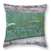 Franklin Roosevelt's Funeral Cortege Throw Pillow