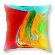 Fuchsia Flower Throw Pillow