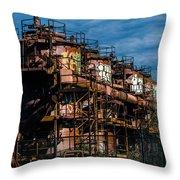 Gas Works Park Seattle Throw Pillow