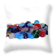 Gemstones Throw Pillow