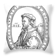 Geronimo Cardano Throw Pillow