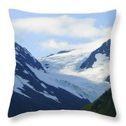 Glacier 2 Throw Pillow
