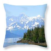Glacier 7 Throw Pillow