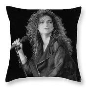 Gloria Estefan And The Miami Sound Machine Throw Pillow