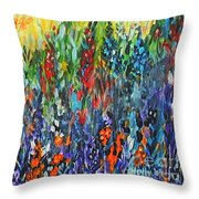Glowy Clearing Throw Pillow