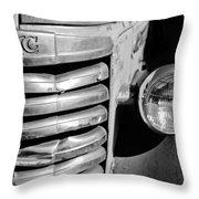 Gmc Truck Grille Emblem Throw Pillow