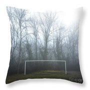 Goal Throw Pillow