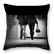 Goin' To The Movies Throw Pillow
