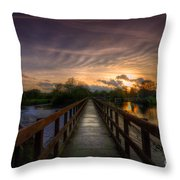 Going Steady Throw Pillow