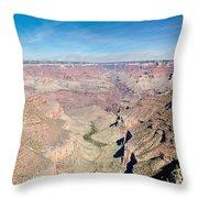 Grand Canyon 56 Throw Pillow