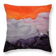 Grand Canyon Original Painting Throw Pillow