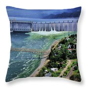 Grand Coulee Throw Pillow