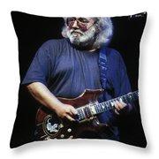 Grateful Dead - Jerry Garcia Throw Pillow