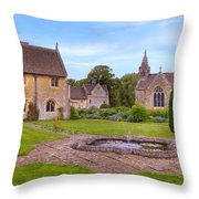 Great Chalfield Manor Throw Pillow