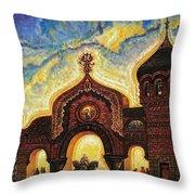 Great Gate Of Kiev Throw Pillow