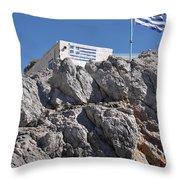 Greek House Throw Pillow
