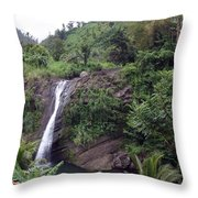 Grenada Landscape. Throw Pillow