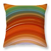 Growth Rings Throw Pillow