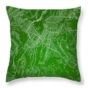 Guatemala Street Map - Guatemala City Guatemala Road Map Art On  Throw Pillow