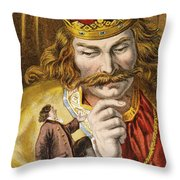 Gullivers Travels Throw Pillow