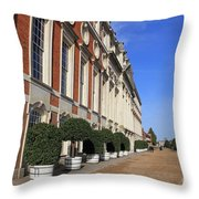 Hampton Court Palace England Throw Pillow