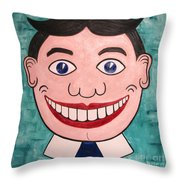 Happy Tilly Throw Pillow