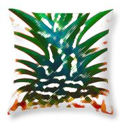 Hawaiian Pineapple Throw Pillow