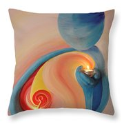 Helping Hands Energy Collection Throw Pillow