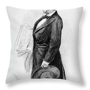 Henry Watterson (1840-1921) Throw Pillow