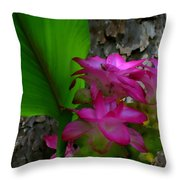 Hidden Lilly Throw Pillow