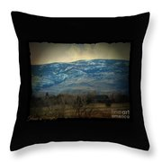 Home Is Nevada Throw Pillow