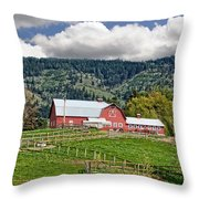 Hood River Throw Pillow