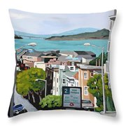 2 Hour Parking Throw Pillow