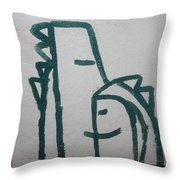Hugs - Tile Throw Pillow
