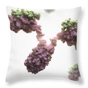 Human Antibodies Throw Pillow