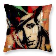 Humphrey Bogart Collection Throw Pillow