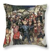 Ibsen: Peer Gynt Throw Pillow