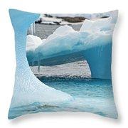 Ice Ice Baby.. Throw Pillow